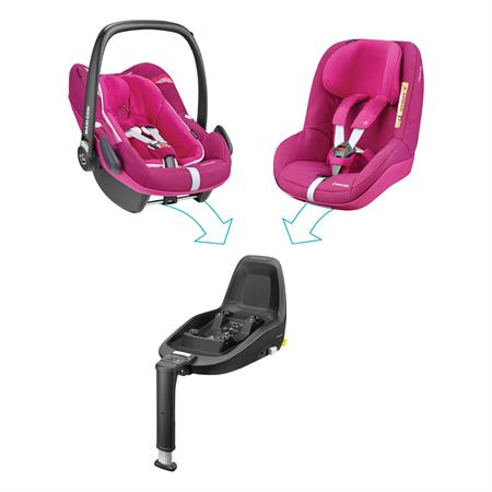 8798332121 Maxi Cosi Pebble Plus Frequency Pink 2wayfamily