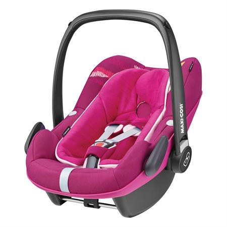 Maxi-Cosi Pebble Plus i-Size Babyschale Frequency Pink