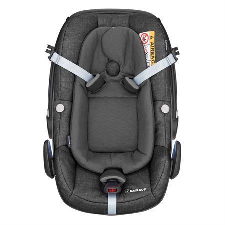 8798710120 Maxi Cosi Pebble Plus Nomad Black Easy Out Gurtsystem