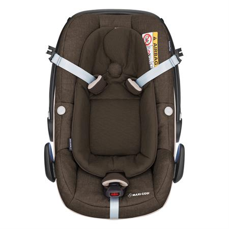 8798711120 Maxi Cosi Pebble Plus Nomad Brown Easy Out Gurtsystem