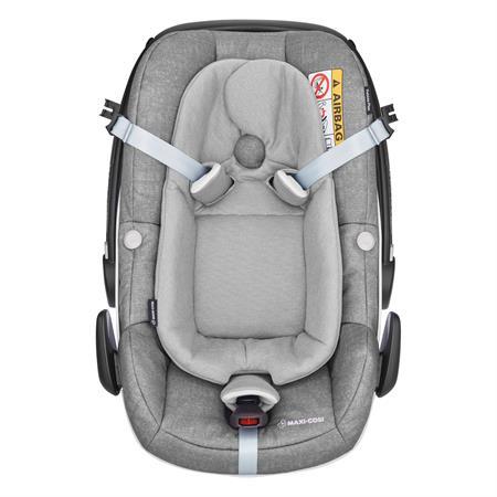 8798712120 Maxi Cosi Pebble Plus Nomad Grey Easy Out Gurtsystem