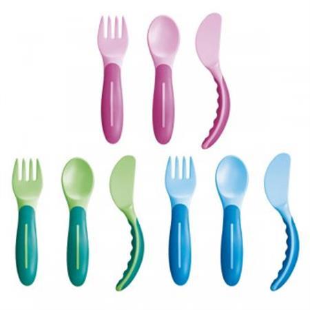 MAM Baby's Cutlery Esslernbesteck 1 Set 6+ Monate