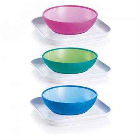 MAM Baby's Geschirr-Set Bowl & Plate