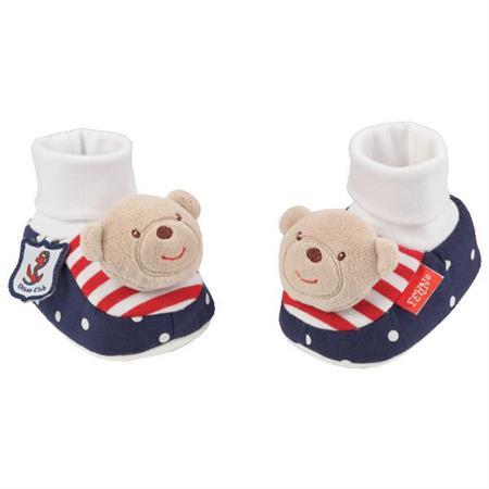BabyFehn Rasselschuhe Teddybär