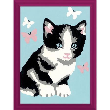 Ravensburger Malen nach Zahlen Serie F Katze Kasimir