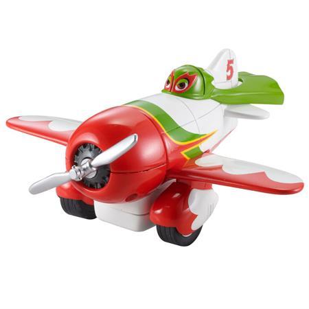 Disney Planes X9497 Rückzieh-Action Flieger El Chupacabra