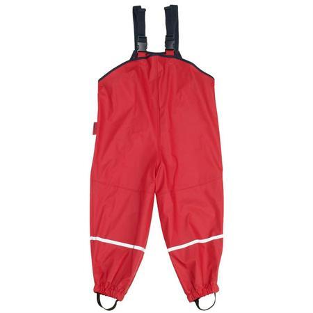 Playshoes Matschhose Regenlatzhose Rot 92