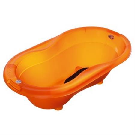 rotho TOP Baby Badewanne Translucent Orange