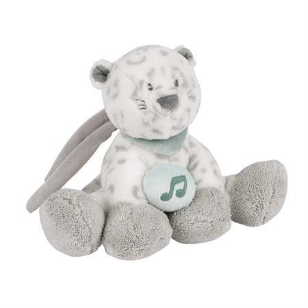 Nattou Mini-Spieluhr Schneeleopard
