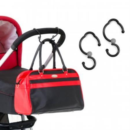 Hauck universelle Haken für Buggys und Kinderwagen