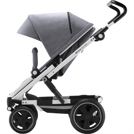 Britax GO BIG 2 Kinderwagen Grey Melange/White