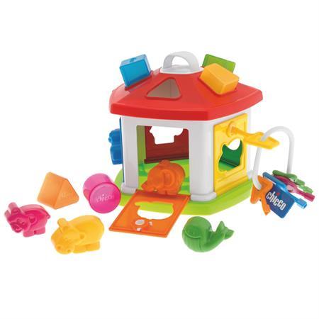 Chicco 64273 Tierchen Zirkus Puzzle Haus Schluessel Hauptbild