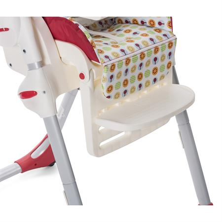 Chicco Hochstuhl Polly Easy mit 2 Rollen Design 2018 Happy Jungle