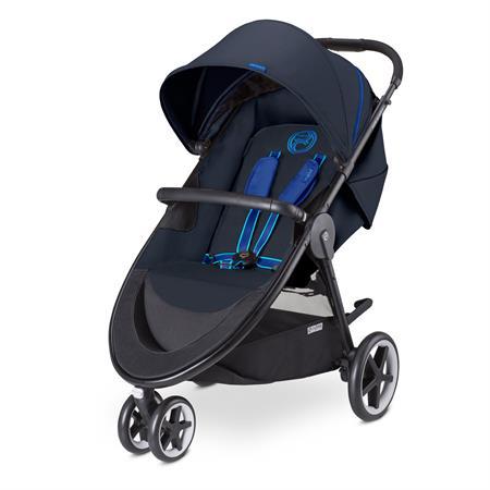Cybex Agis M-Air 3 Jogger Kinderwagen Design 2015 True Blue-navy blue