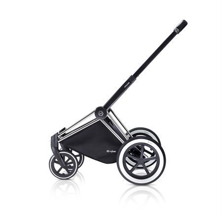 Cybex PRIAM Chrome Kinderwagen Gestell 2017 ALLTERRAIN Raeder Seitenansicht