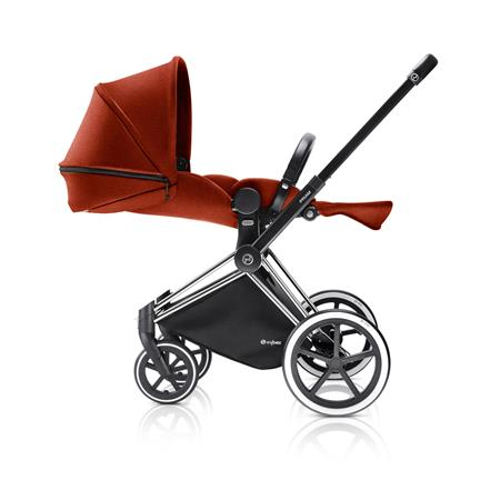Cybex PRIAM Kinderwagen mit Lux Sitz 2017 Autumn Gold Liegeposition