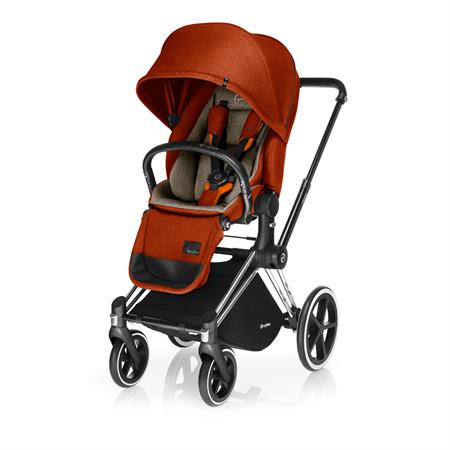 Cybex PRIAM Kinderwagen mit Lux Sitz 2017 Autumn Gold