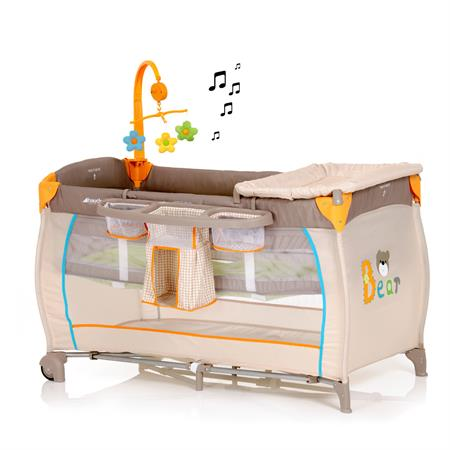 Hauck Babycenter, multifunktionales Reisebett inkl Bear
