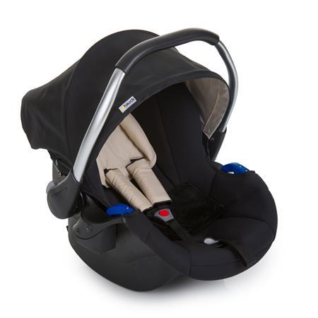 hauck comfort fix set mit babyschale isofix basis schwarz. Black Bedroom Furniture Sets. Home Design Ideas