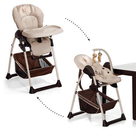 Hauck Sit'n Relax | 2in1 Hochstuhl für Baby und Kleinkind | Fruit / Hauck Sit'n Relax | 2in1 Hochstu