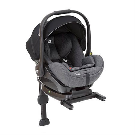 Joie i-Level infant carrier with reclining function allowed in car