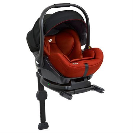 Joie i-Level infant carrier with reclining function allowed in car Lychee