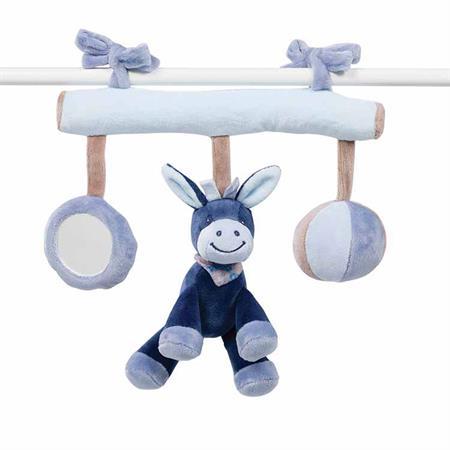 Nattou Alex & Bibou Maxi Toy 321211 Spielzeug zum aufhängen, für Babyschale