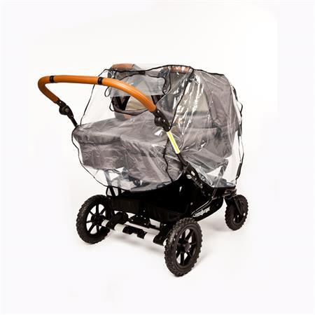 Altabebe Regenschutz Zwillingskinderwagen