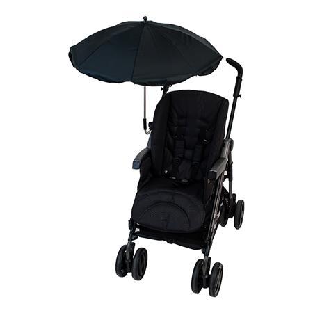 Altabebe Sonnenschirm für Buggys & Kinderwagen schwarz