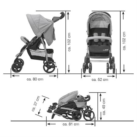 Baby-Plus Buggy Compact Easy2