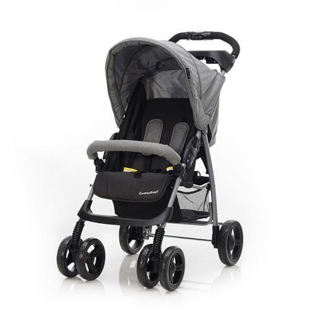 Baby-Plus Buggy Compact Easy2 Grau Melange