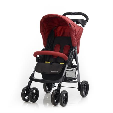 Baby-Plus Buggy Compact Easy2 Rot Melange