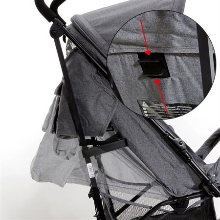 Baby-Plus Buggy Compact Trend Marine
