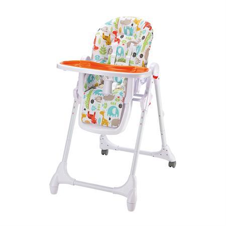 Baby-Plus Hochstuhl Ricci Animals Orange