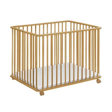 Baby-Plus Holzlaufgitter Ludo Natur 102 x 76 cm