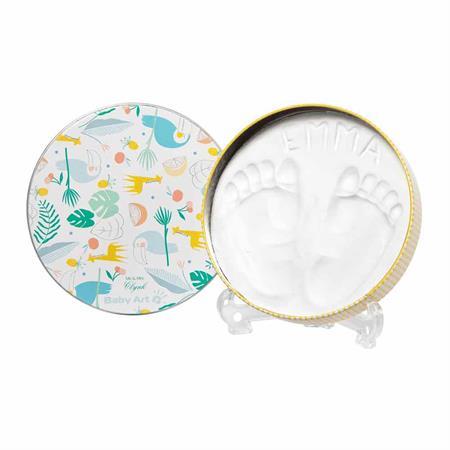 Babyart Magic Box rund Toucans für Fuß/Handabdruck