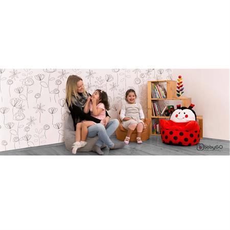 babyGO Sessel Bean Seater Käfer