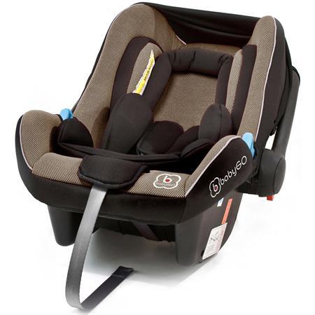 BabyGO Kindersitz Travel XP Brown