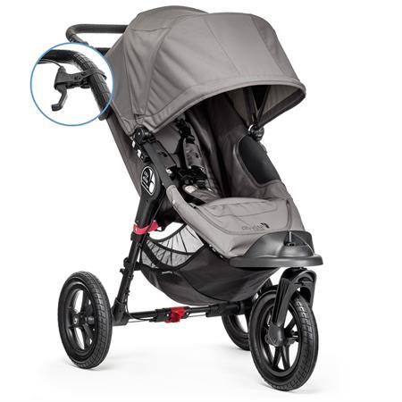 babyjogger allround kinderwagen city elite parkbremse handbremse 2016 grey Hauptbild