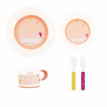 Babymoov rutschfestes Geschirr-Set Apricot