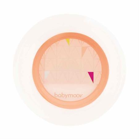 Babymoov rutschfester Teller Apricot