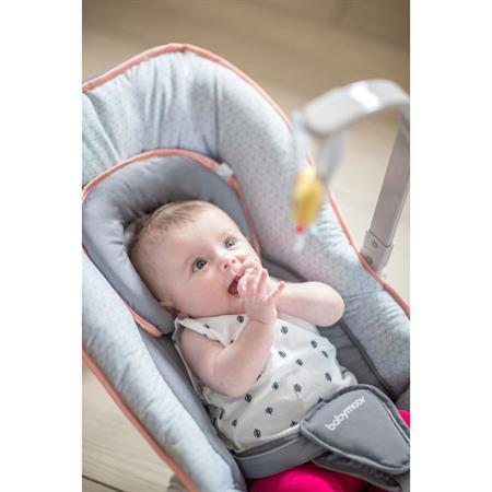 Babymoov Graphic Baby-Wippe apricot