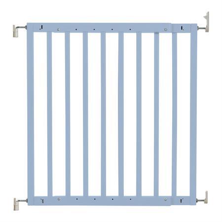 Badabulle Holz Türschutzgitter Color Pop Blau/Grau