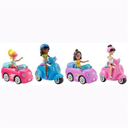 Mattel Barbie On The Go Puppe & Fahrzeug Sortiment