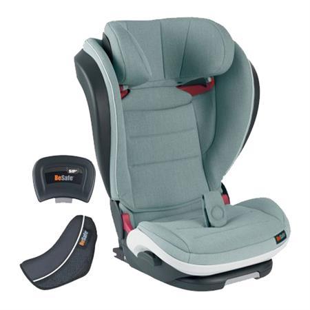BeSafe Kindersitz iZi Flex FIX i-Size Design 2018 Sea Green Melange