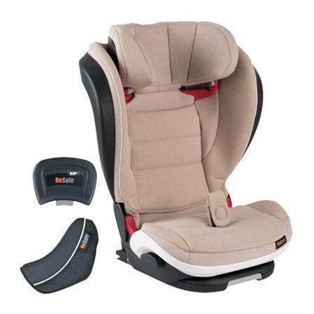 BeSafe Kindersitz iZi Flex FIX i-Size Design 2018 Ivory Melange