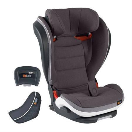 BeSafe Kindersitz iZi Flex FIX i-Size Design 2018 Metallic Melange
