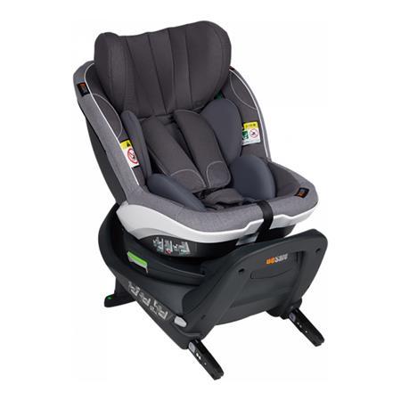 BeSafe Kindersitz iZi Turn i-Size Metallic Melange