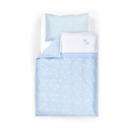 Träumeland Bettwäsche Krone Blau Hauptbild