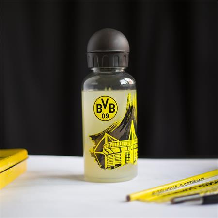 Borussia Dortmund Trinkflasche mit Stadionmotiv